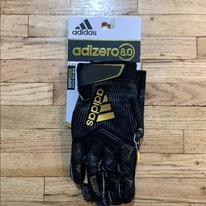 adidas adizero 8.0 black and gold gloves